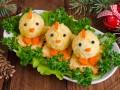 Новогодняя закуска Цыплята