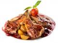Рецепты на Новый год: Свинина с вишневым соусом