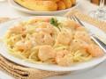 Рецепты на 8 марта: Креветки в сливочном соусе