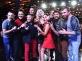 Лига смеха: Оля Полякова увела команду у Лены Кравец