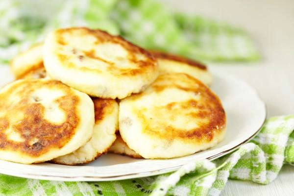 Рецепт                  Сырники с корицей и ванилью