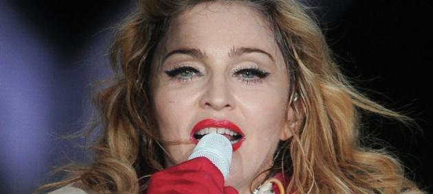 Мадонна станцевала тверк в машине
