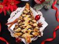 Как приготовить пирог в виде новогодней елочки