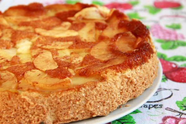 Рецепт                  Перевернутый яблочный пирог