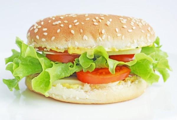 Рецепт                  Летний сэндвич с овощами и ветчиной