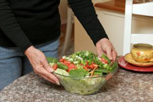 На диету с винигретом