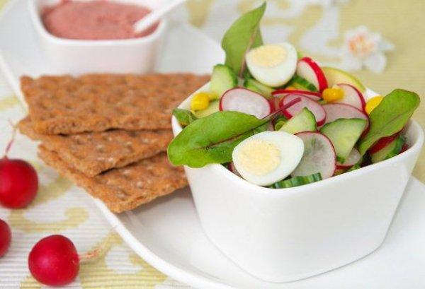 Рецепт                  Салат из редиса