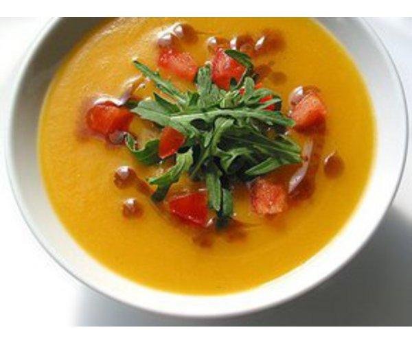 Рецепт                  Крем-суп из тыквы