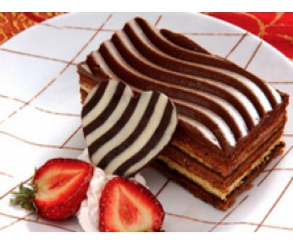 Рецепт                  Борьба бисквитных Инь и Янь