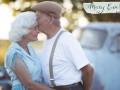 Любовь сквозь годы: пара устроила фотосессию на 57-летие со дня свадьбы