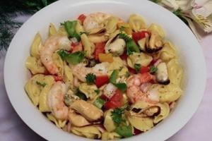 равиоли с морепродуктами