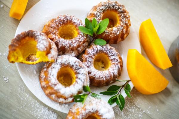 Рецепт                  Тыквенные кексы с апельсином и лимоном