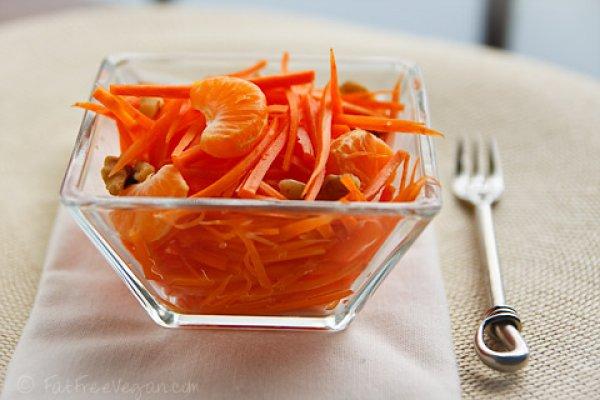 Рецепт                  ТОП-5 рецептов постного салата из моркови