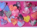 Валентинки руками малышей: оригинальные идеи
