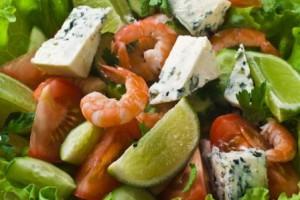 Используй морепродукты для приготовления зимних салатов