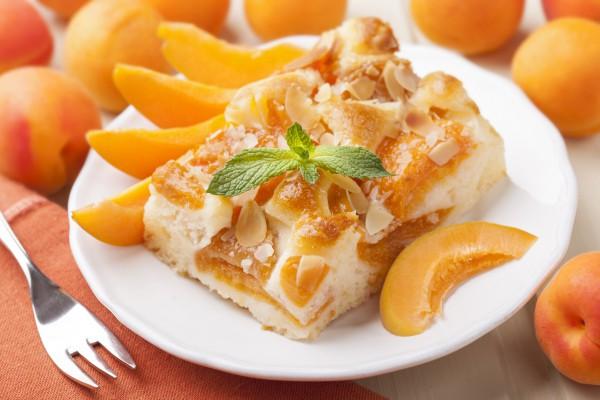 Рецепт                  Летний пирог с абрикосами
