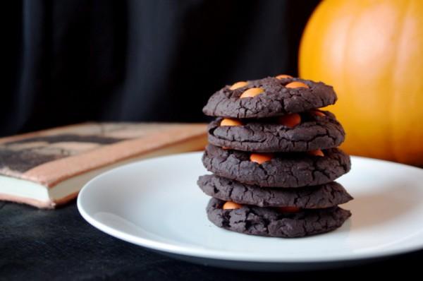Рецепт                  Шоколадное печенье на Хэллоуин