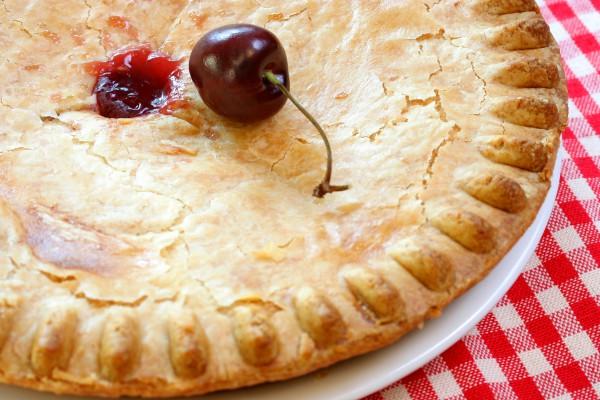 Рецепт                  Американский вишневый пирог