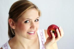 Если ты будешь съедать два яблока ежедневно, ты сможешь сбросить до 5 килограммов лишнего веса