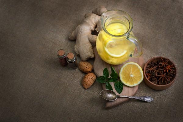 Зимний лимонад с корицей