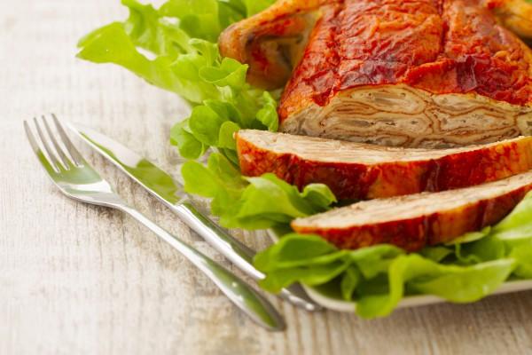 Рецепт                  Пасхальные рецепты: Курица, фаршированная блинами