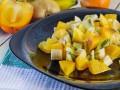 Витаминный салат из осенних фруктов