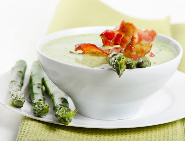 Рецепт                  Суп из зеленого горошка со спаржей