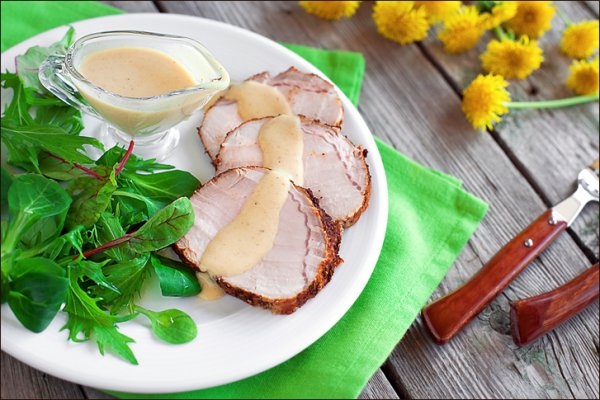 Рецепт                  Мясо, запеченное со специями