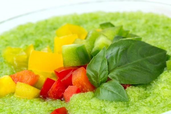 Рецепт                  Зеленый гаспачо