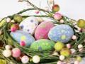 Пасха 2012: Как сделать цветочную пасхальную композицию