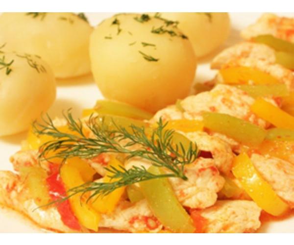 Рецепт                  Паприкаш из курицы