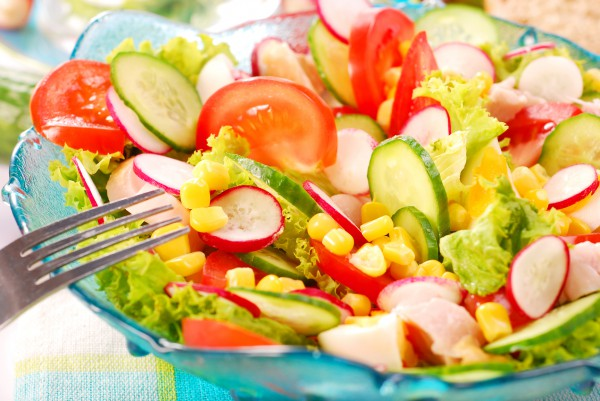 Рецепт                  Пасхальные рецепты: Весенний салат из овощей