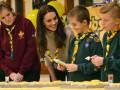 Кейт Миддлтон повеселилась с юными скаутами