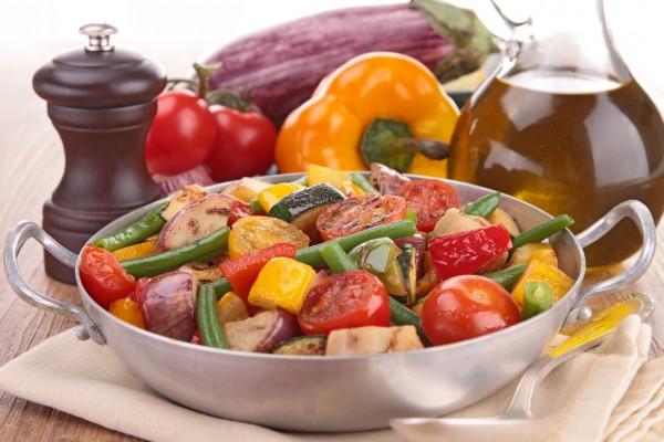 Рецепт                  Рагу из овощей на гриле