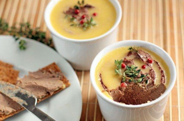 Рецепт                  Печеночный паштет с пряностями