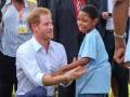 На Карибах люди протестуют против принца Гарри