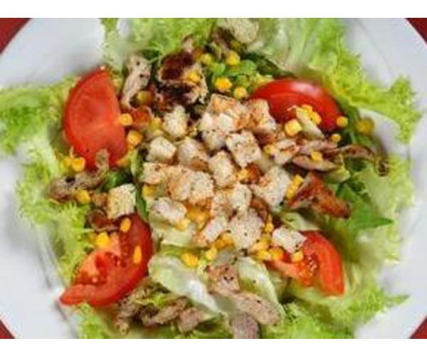 Рецепт                  Турецкий салат с жареным хлебом