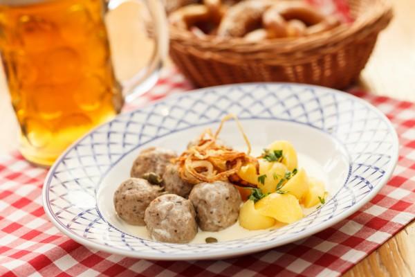 Рецепт                  Октоберфест 2014: Мясные фрикадельки по-немецки