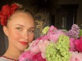 Хайден Панеттьери в вышиванке поздравила Кличко с Днем влюбленных