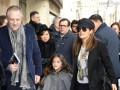 Сальма Хайек с мужем и дочерью отправилась в Париж