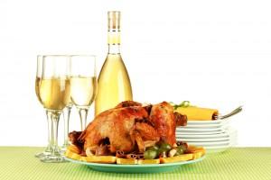 Подавай запеченную индейку с белым вином