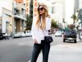Как носить джинсы-скинни: Яркие образы модниц