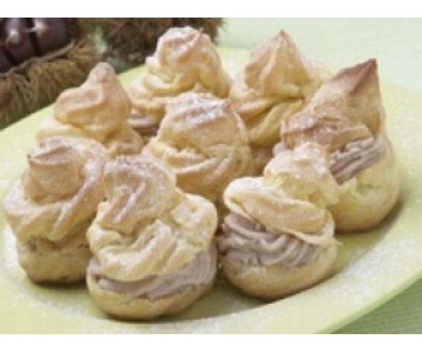 Рецепт                  Эклеры с ореховым маслом