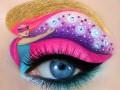 Искусство макияжа: Глаза-картины от визажиста из Израиля