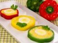 Как приготовить фаршированный перец с яйцом и сыром