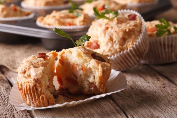 Куриные маффины с сыром: пошаговая инструкция