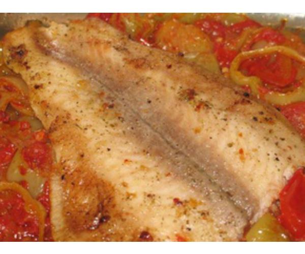 Рецепт                  Запеченная рыба