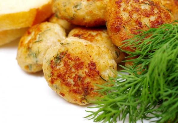 Рецепт                  Куриные котлеты с зеленью