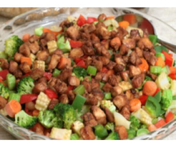 Рецепт                  Овощная закуска с мясом