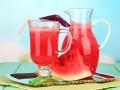 Освежающий арбузный напиток